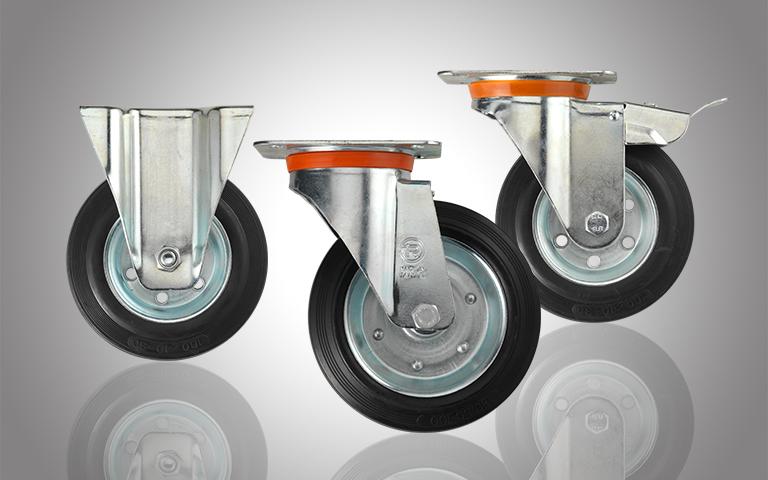Räder und Rollen