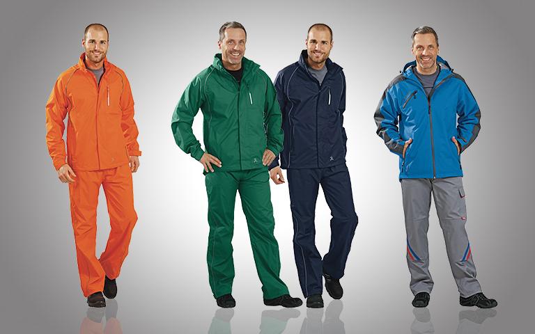 Berufskleidung Regen- & Wetterschutz